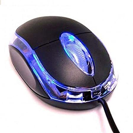 Sasta Bazar USB Optical Mouse for Computer/Laptop  Wired