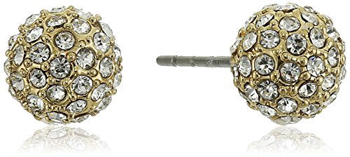 Rebecca Minkoff Crystal Ball Stud Ball Earrings