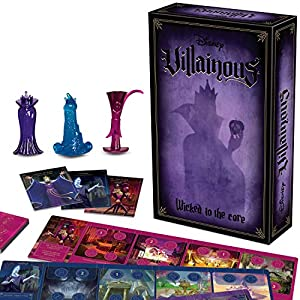 Ravensburger Disney Villainous: Wicked to The Core Strategy Board Game for Age 10 & Up – Stand-Alone & Expansion to The…