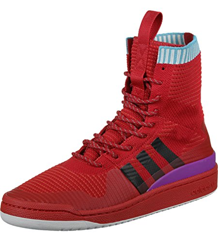 adidas Forum Winter PK, Scarpe da Fitness Unisex – Adulto Rosso (Escarl / Negbas / Pursho)