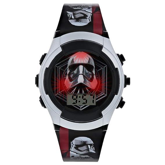 Star Wars Reloj Niños de Digital con Correa en PU SWJ4009: Amazon.es: Relojes