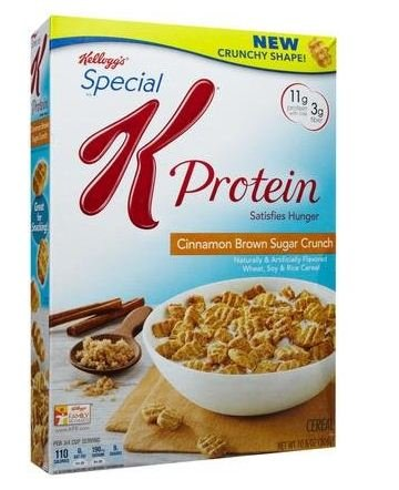 Kellogg's Special K Special K Protein Cereal - Cinnamon Brown Sugar Crunch - 10.8 oz (Pack of 2)