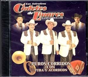 Puros Corridos Con Tuba Y Acordeon: Los Cadetes De Linares