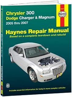 title chrysler 300 dodge charger magnum 2005 thru 2010 haynes rh amazon com