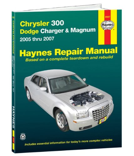 Chrysler 300, Dodge Charger & Magnum, 2005-2007 (Automotive Repair Manual)