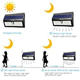 URPOWER Solar Lights, 44 LED Waterproof Motion Sensor Lights Outdoor Wireless Solar Powered Wall Light Motion Activated Auto On/Off Solar Security Lights Outdoor for Fence Patio De