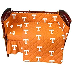 Tennessee 5 Pc Baby Crib Logo Bedding Set by College Covers