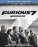 Furious 7 (Extended Edition) [Blu-ray + DVD + Digital HD] (Bilingual)