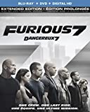 Furious 7 (Extended Edition) [Blu-ray + DVD + Digital HD] (Bilingual)