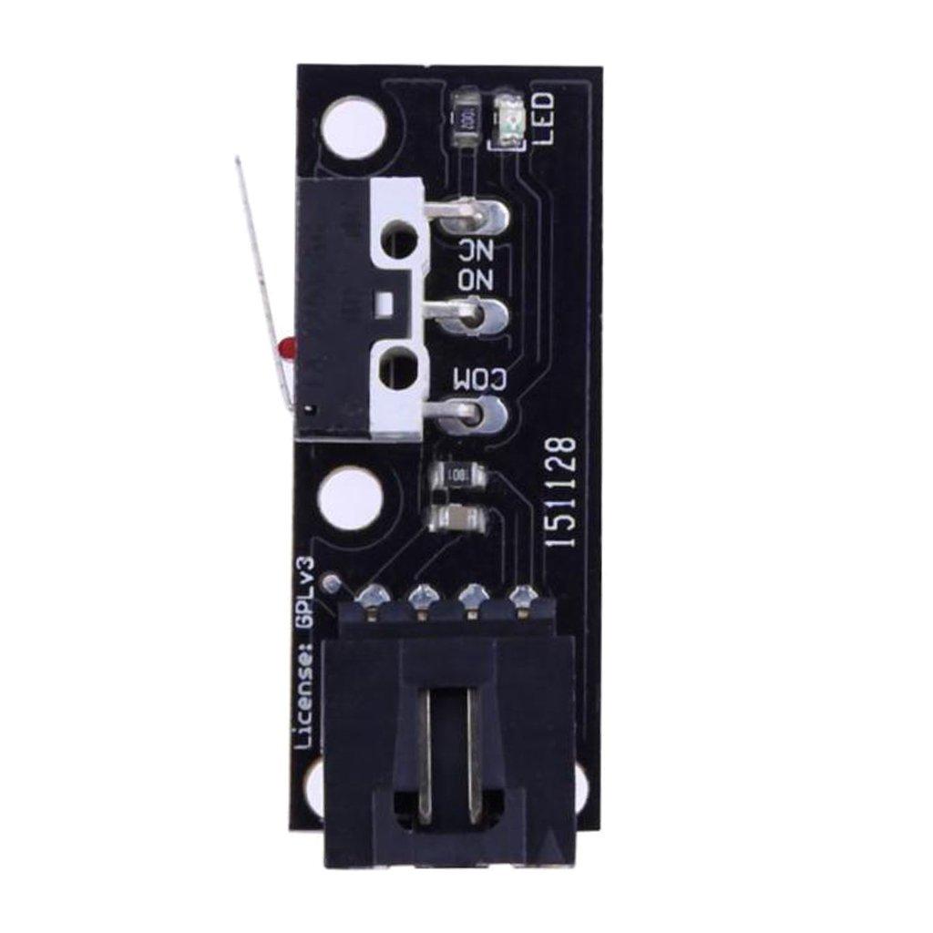 H HILABEE Interruptor De PCB 3 Interruptores De Final De Carrera ...