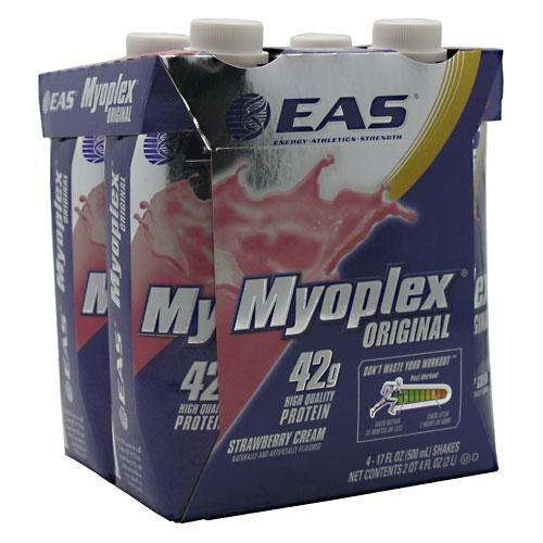 Eas Myoplex Original Nutrition Shake Rtd Strawberry Cream