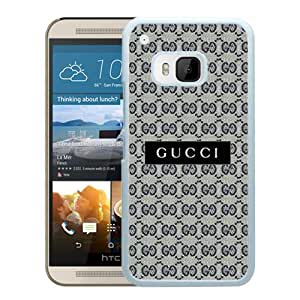 Beautiful And Unique Designed Case For HTC ONE M9 With Gucci 34 White Phone Case