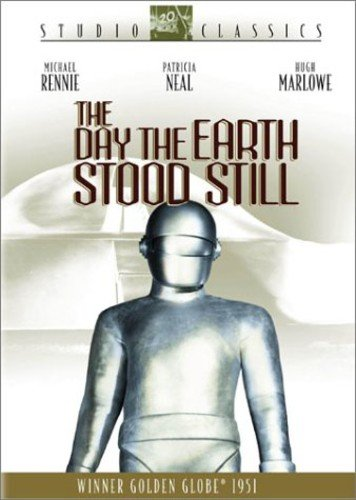 The Day the Earth Stood Still (Bilingual) Michael Rennie Patricia Neal Hugh Marlowe Sam Jaffe