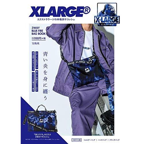 XLARGE 3WAY BLUE FIRE BAG BOOK 画像 A