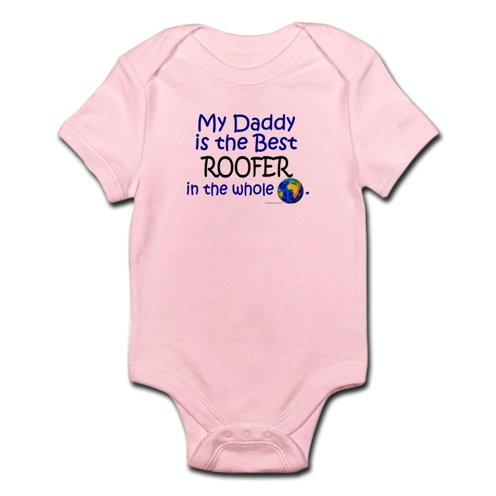 CafePress - Best Roofer In The World (Daddy) - Cute Infant Bodysuit Baby Romper