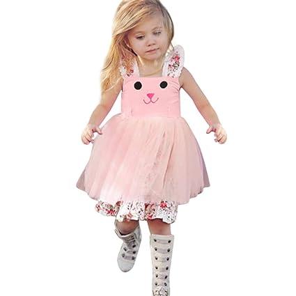 f2b36007d90 Sundress Toddler Baby Girls Sleeveless Dress 2~5 Years Old Light ...