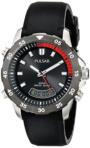 Seiko Unisex PVR063 Analog-Digital Japanese-Quartz Black Watch