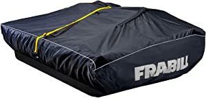 Ice Shelter Transport Cover | Transport Cover for Ice Fishing Shelters for Ice Hunter Shelters & Previous Versions of Frabill Flip-Over Shelters, Black, Large, FRBS6406