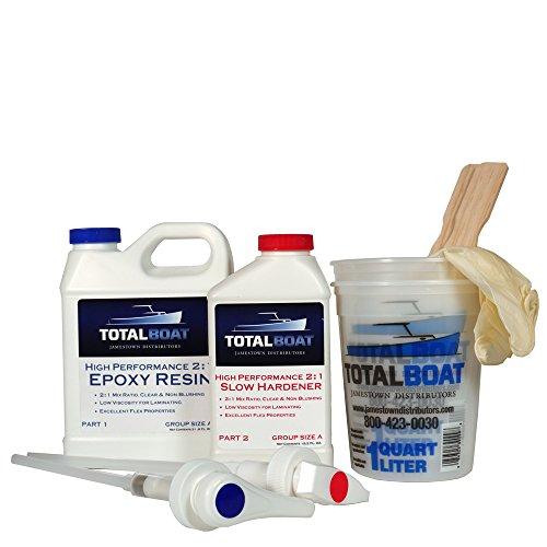 TotalBoat 2:1 High Performance Epoxy Kits (Quart, Slow)