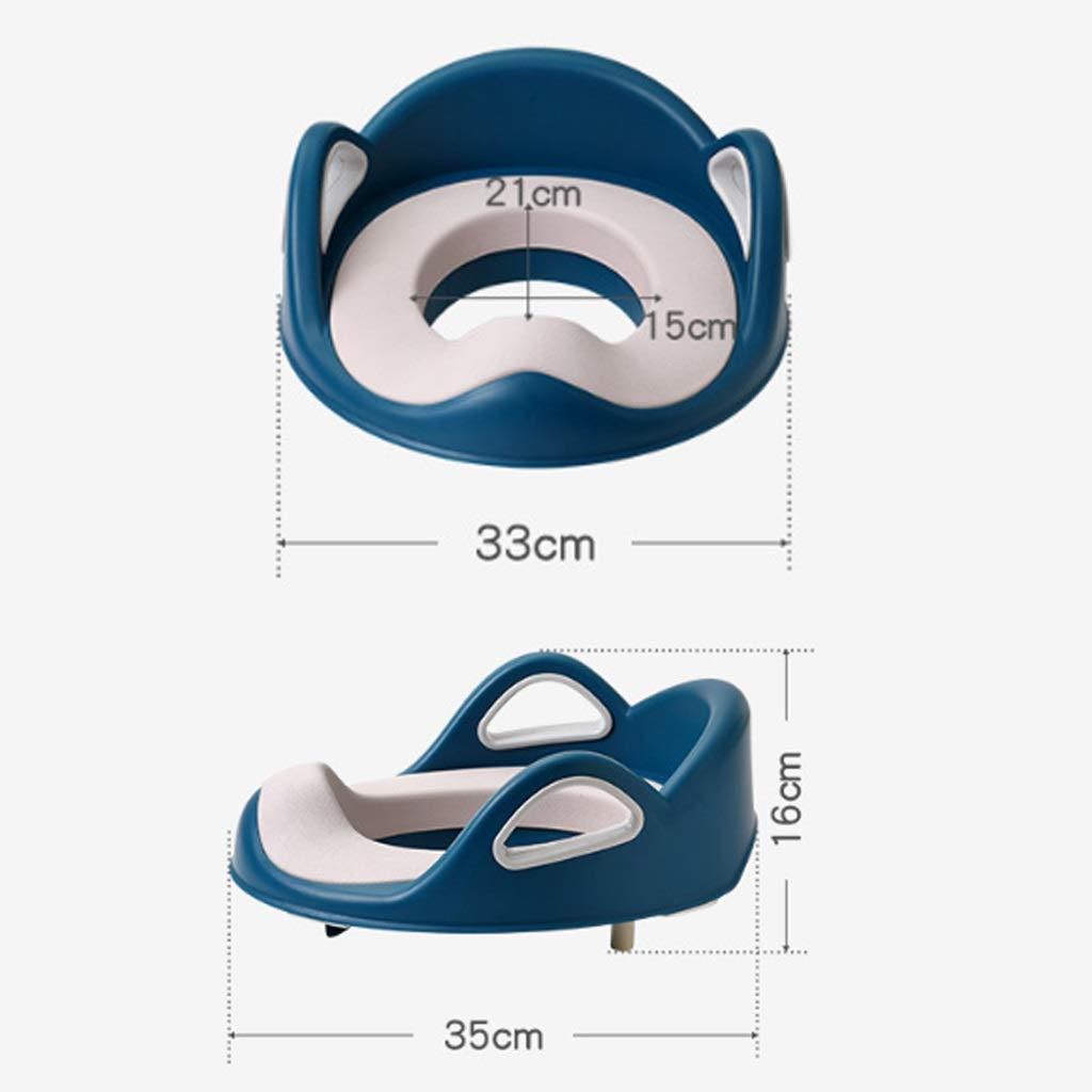 Amazon.com: QJKai - Asiento de inodoro para niños con asas y ...