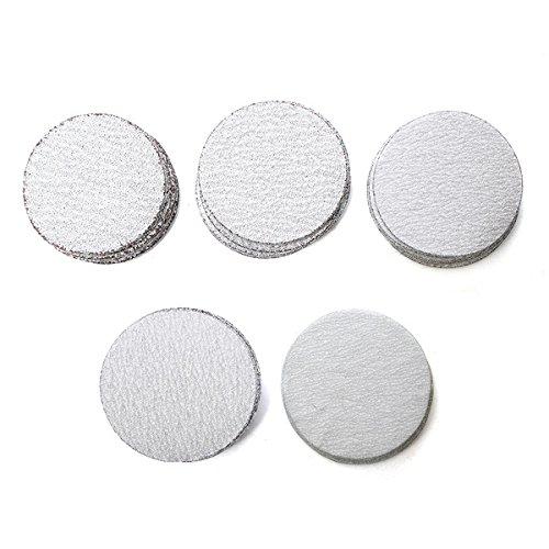 WCHAOEN 50pcs 2 Inch 50mm Sanding Discs 60 to 400 Grit Sanding Polishing Pads Set Accessories Tool
