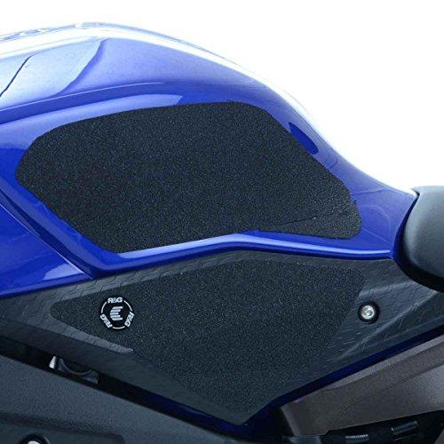 - R&G EaziGrip Traction Tank Grips Pad Protector Guard Black fits Yamaha YZF R1 R1S R1M