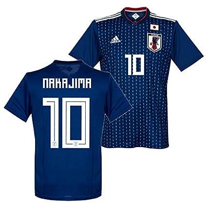adidas サッカー日本代表 2018 ホーム レプリカ ユニフォーム 半袖 No.10 中島 CV5638/10N (M)