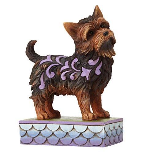 Jim Shore Heartwood Creed Izzie Yorkshire Terrier Yorkie Figurine 456959 Dog Pet