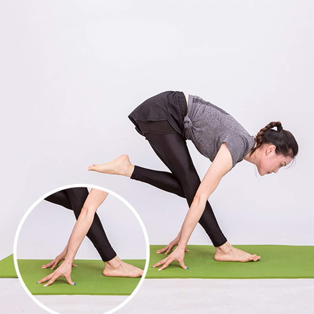 Amazon.com: WZHIJUN Yoga Mats 6mm Thicken Beginner Non-Slip ...