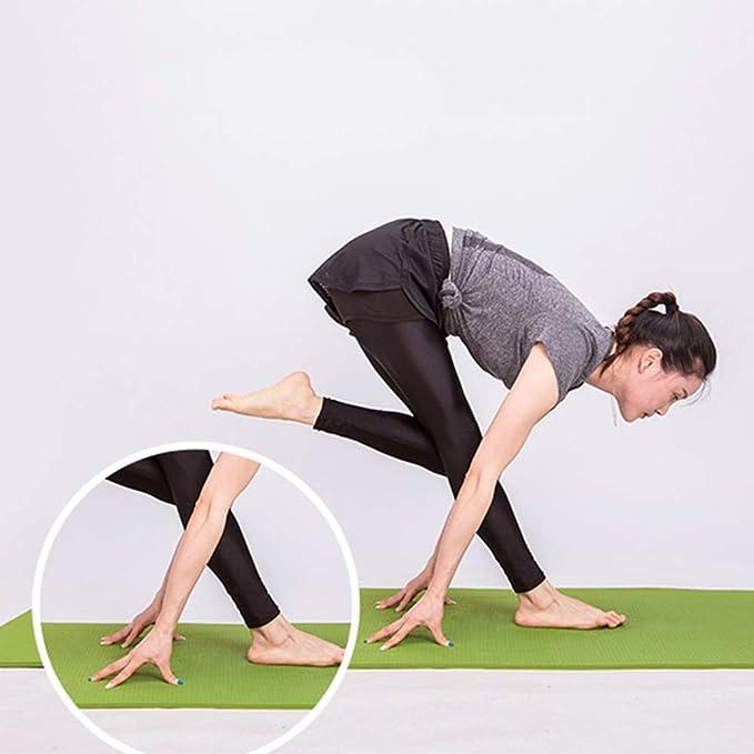 Amazon.com: WZHIJUN Yoga Mats 6mm Thicken Beginner Non-Slip ...