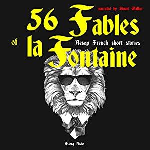 56 Fables of la Fontaine Audiobook