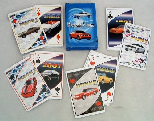 (Ford Mustang Playing Cards(Pack Of 48))