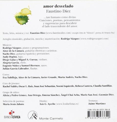 Amor desvelado: Faustino Diez Iglesia: 9788483533840: Amazon.com: Books