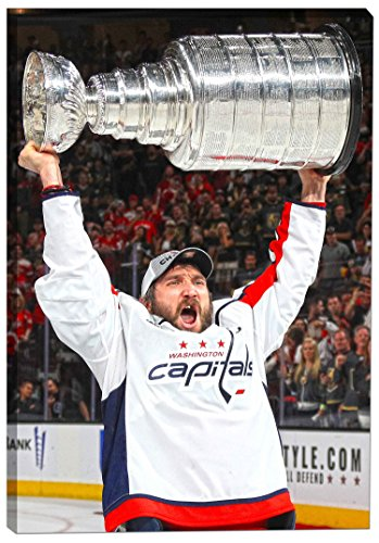 Ovechkin,A 20x29 Canvas 2018 Stanley Cup Celebration
