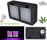 600W LED Grow Light with Programmable Timer Control,Newly Full Spectrum Plant Growing Light,with UV/IR for Veg and Flower( Holiday Deals)