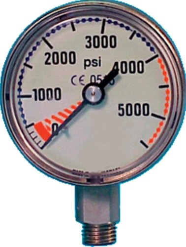 Trident Submersible Pressure Gauge 5000 Psi by Trident