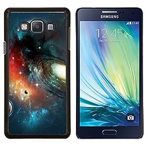 EJOOY---Cubierta de la caja de protección para la piel dura ** Samsung Galaxy A7 A7000 ** --Planet Space Galaxy Art