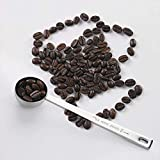 IZELOKAY 401 Coffee Scoop, Stainless Steel 1 Table