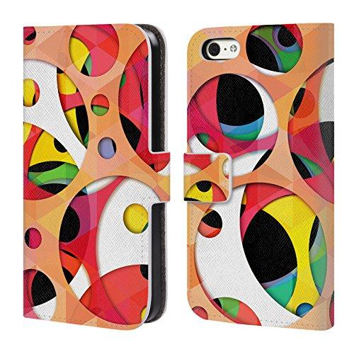 Officiel Mark Ashkenazi Couleurs Supplémentaires 2 Modèles Étui Coque De Livre En Cuir Pour Apple iPhone 5c