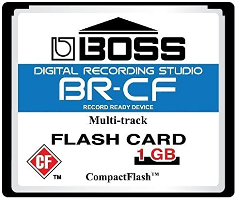 1GB 1 GIG COMPACT FLASH CF MEMORY CARD Roland BOSS BR-600 864 900 CD FREE CD NEW fourniersean exclusive!