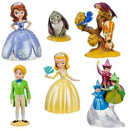 Disney Sofia Die Erste Figuren Play Set Torten Deko Amazon De