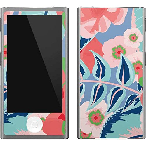 - Skinit Floral Patterns iPod Nano (7th Gen&2012) Skin - Pink Spring Flowers Design - Ultra Thin, Lightweight Vinyl Decal Protection