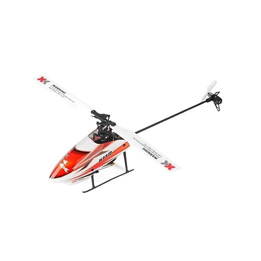 LUGEUK Avión de Control Remoto Aviones Drone 6 pases Helicóptero ...
