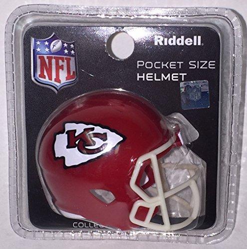 Kansas City Chiefs Riddell Speed Pocket Pro Football Helmet - New in package (Kansas City Pro Football)