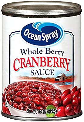 Ocean Spray Whole Berry Cranberry Sauce, 14 Ounce by Ocean Spray