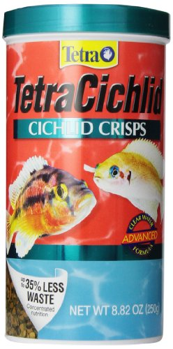 Tetra TetraCichlid Cichlid Crisps Advanced Formula, 8.82-Ounce - 77195