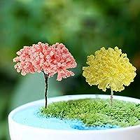 Saver Bricolaje Miniatura Hermosas Flores Adornos Planta en