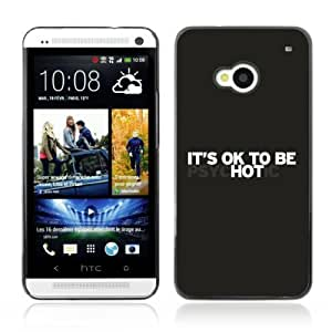 YOYOSHOP [It's OK To Be Hot ] HTC One M7 Case