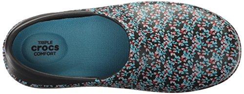 Crocs Blue Sabot Black Donna sandali Ice ZwpUZ