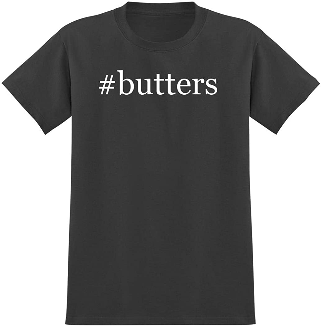 #butters - Hashtag Men's Graphic T-Shirt, Grey, XXX-Large